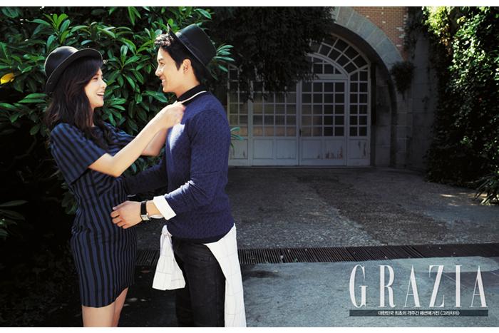 Lee Bo Young Ji Sung Grazia 2