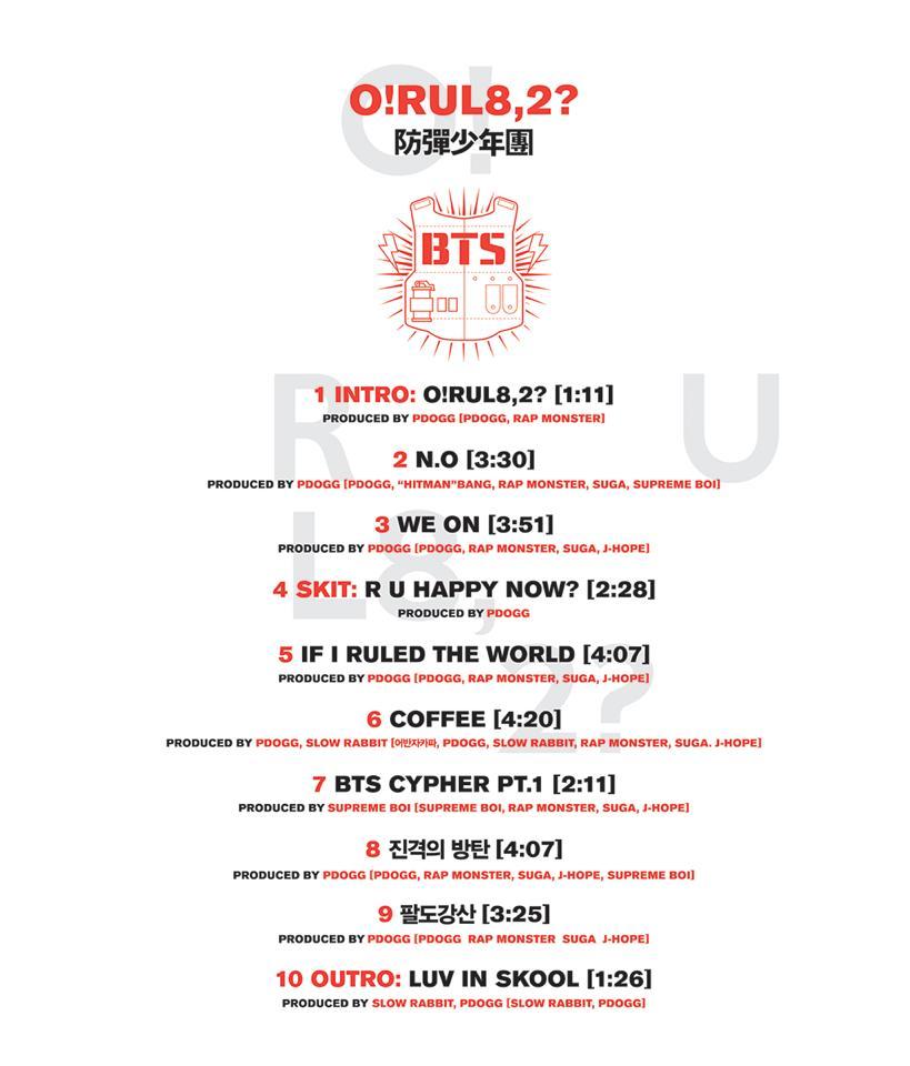 bts orul82 tracklist