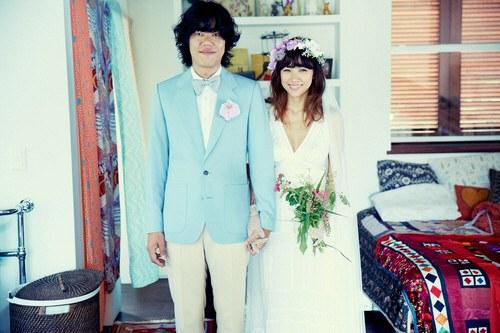lee sang soon lee hyori wedding 1