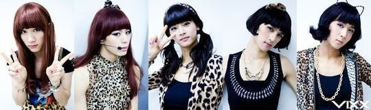 vixx as wonder girls 2