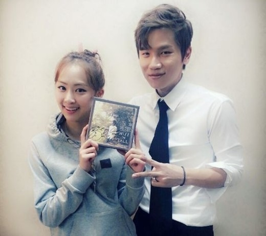 Dasom and K.Will