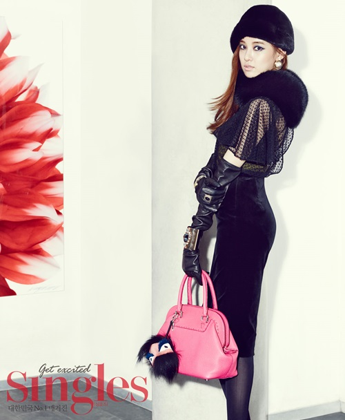 Jooyeon (After School) for Singles Magazine