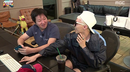 G-Dragon and Hyung Don 2