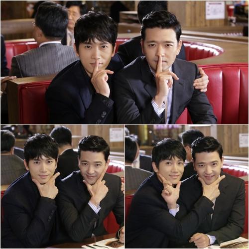 Ji Sung and Bae Soo Bin