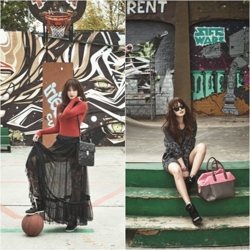 Kim Tae Hee Transforms into Funky Autumn Girl for Cosmopolitan Magazine