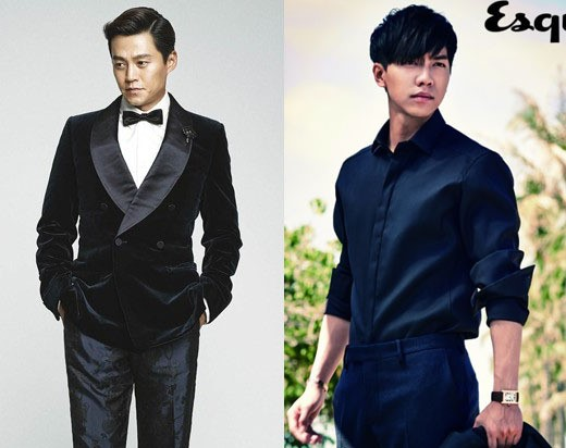 Lee Seung gi and Lee Seo Jin 2