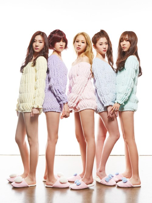 Girl Group Tint Is Ready To Make Their Debut In Sexy Sweater Dresses This Fall  Soompi-9745