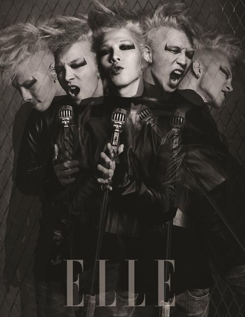 Taeyang for Elle Korea (November)