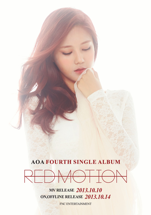 aoa red motion hyejeong