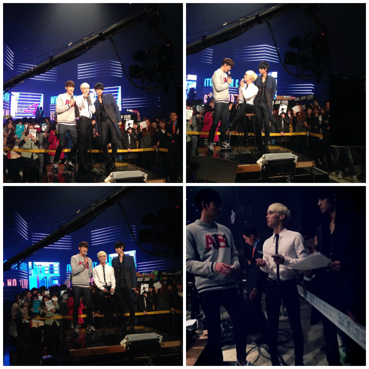 M! Countdown collage