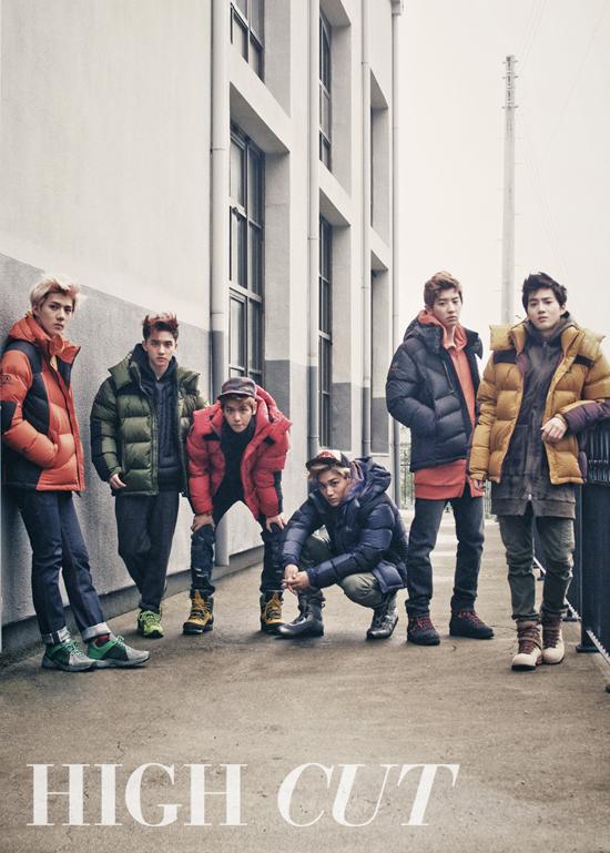exo high cut 3