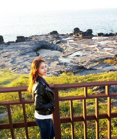 Lee Yeon Hee in Jeju Island