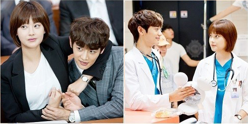 Minho and Oh Yeon Seo Show Off Their Chemistry on Set of ...