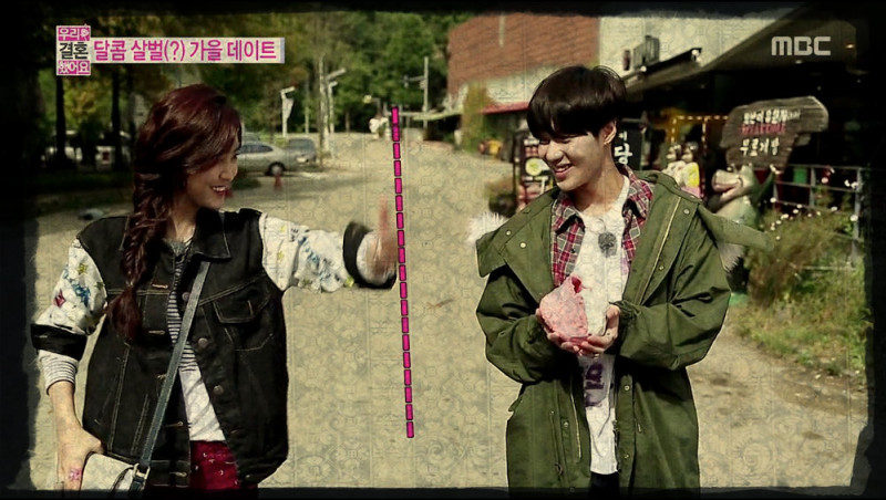 [Recap] Don't Cross the Line – We Got Married 10.19.13