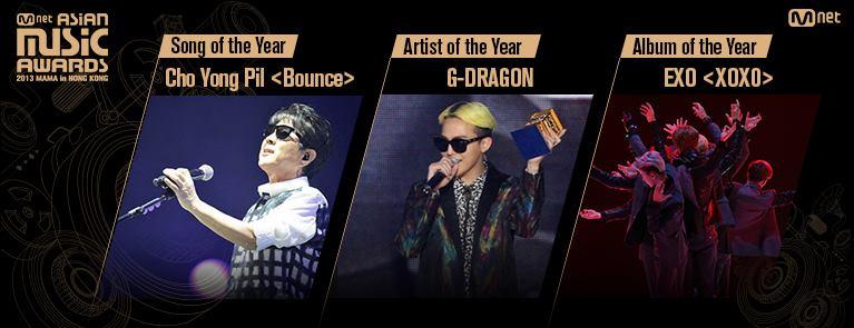 """2013 MAMA"" Ratings Peak During Big Bang's Performance + Red Carpet Pictures"