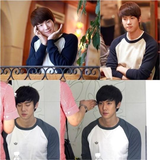 Yoo Yeon Seok behind the scenes