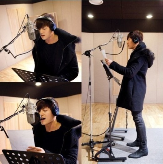 Choi Jin Hyuk The Heirs OST recording
