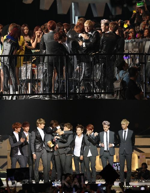 EXO at 2013 Mnet Asian Music Awards