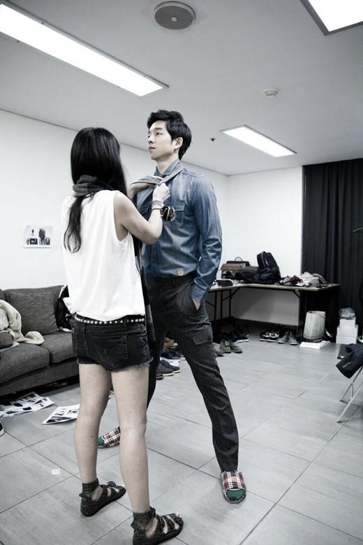 Gong Yoo dressed
