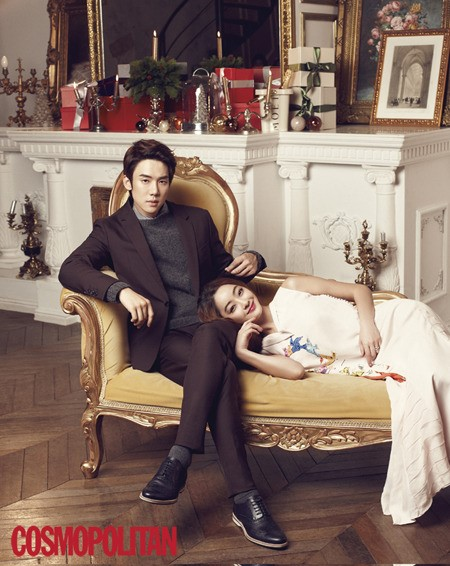 Yoo Yeon Suk and Seo Hyo Rim