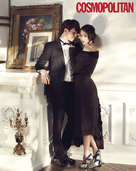Honey Lee and Lee Dong Wook