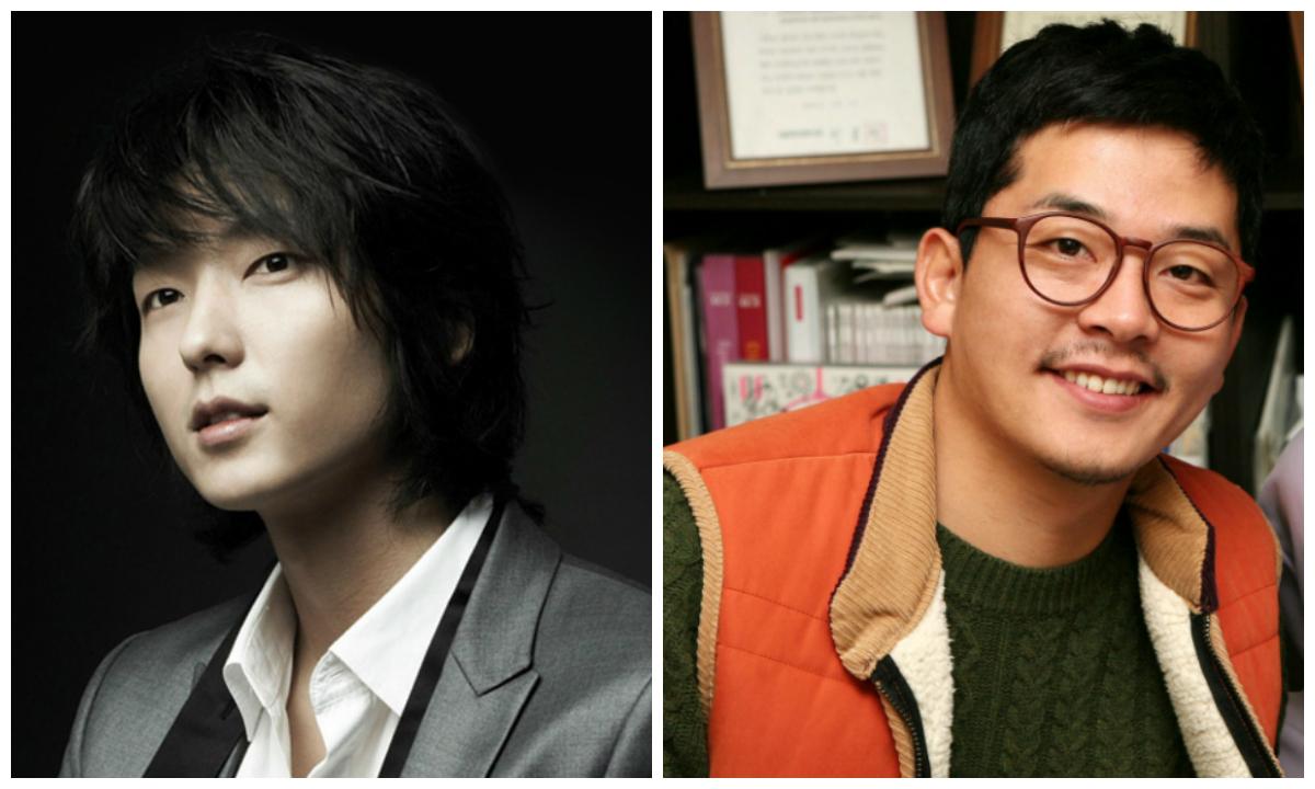 Lee Jun Ki and Kim Joon Ho
