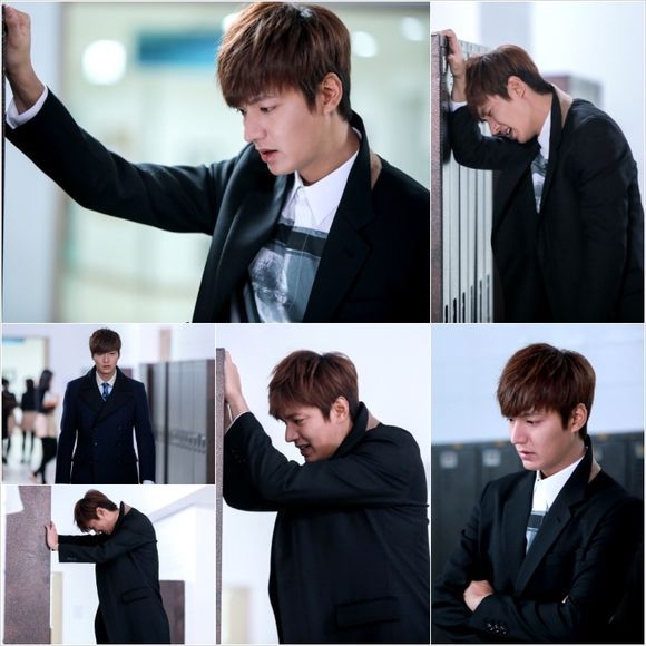 "Lee Min Ho Does Some Crying in ""The Heirs"""