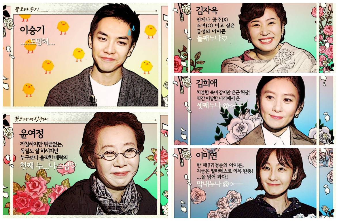 Nunas Over Flowers Character Introduction