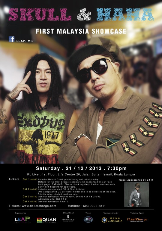 Skull & Haha in KL 2013_Poster_Opt3_ver11-Launch