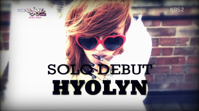 """Hyorin Has Her Music Bank Solo Debut Stage with """"Lonely ...Hyorin Songs"""