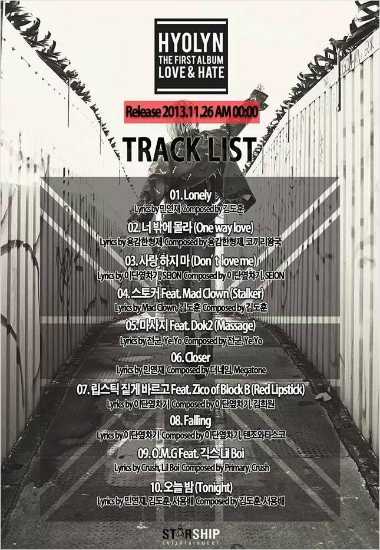 hyorin_tracklist