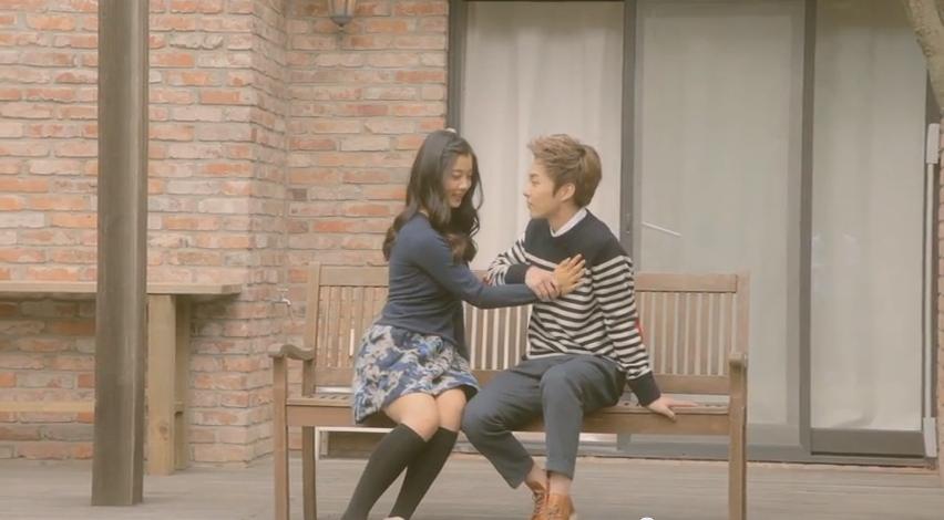jin making teaser xiumin kim yoo jung 110413