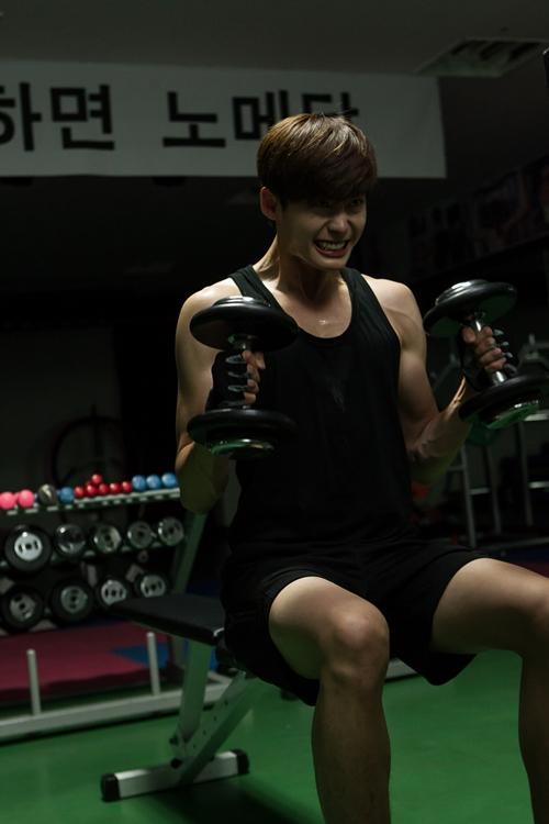 lee jong suk work out 111313 a
