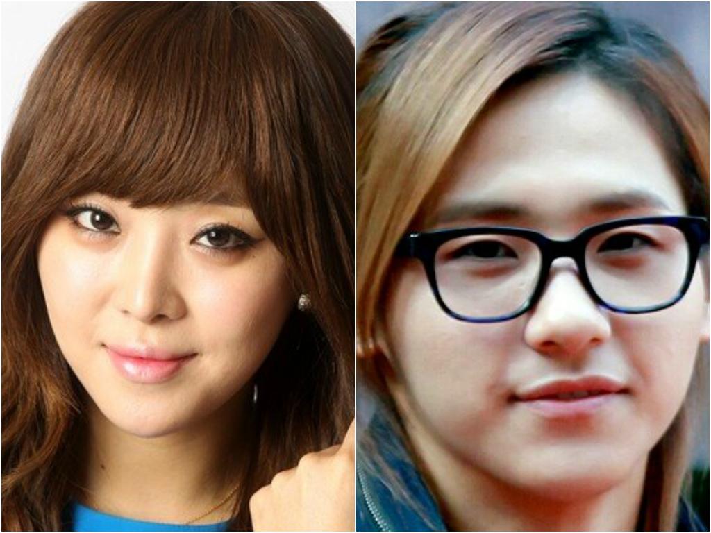 Brown Eyed Girls Narsha Looks Like B1a4 S Cnu Soompi