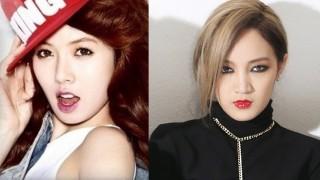 HyunA and Jia