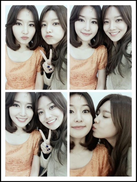 sooyoung sister musical support 2