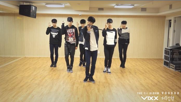 """VIXX - """"Voodoo"""" dance practice"""