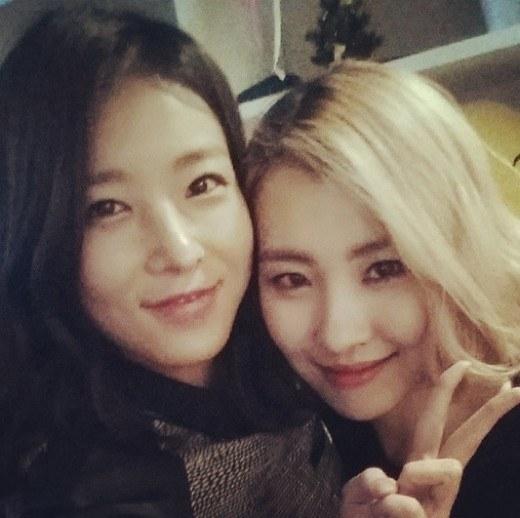 Yubin and Sunmi