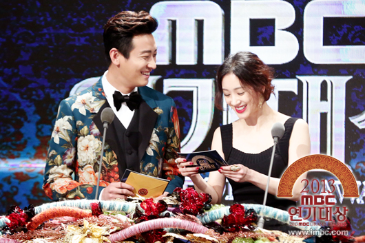 Joo Ji Hoon and Jung Ryeo Won