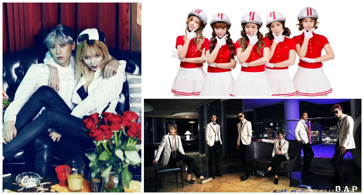 Trouble Maker, Crayon Pop and B.A.P