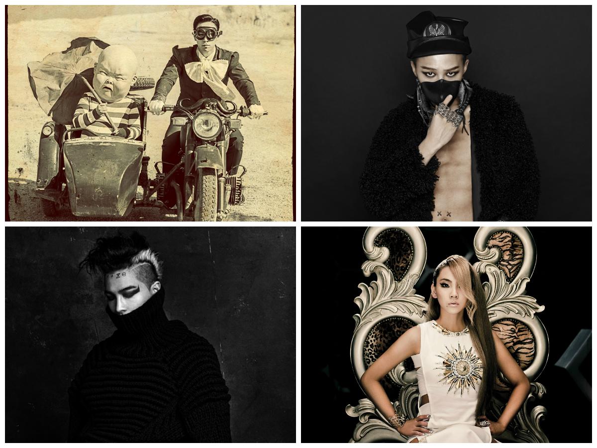 T.O.P, G-Dragon, Taeyang and CL