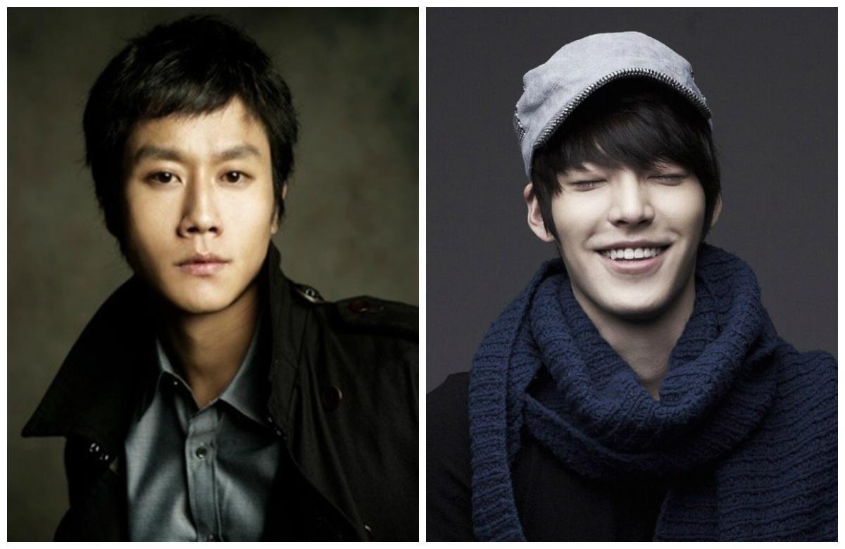 Jung Woo and Kim Woo Bin