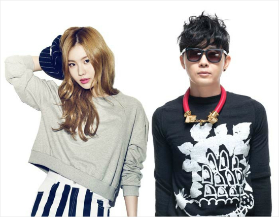 Lim Kim and Lee Seung Hwan