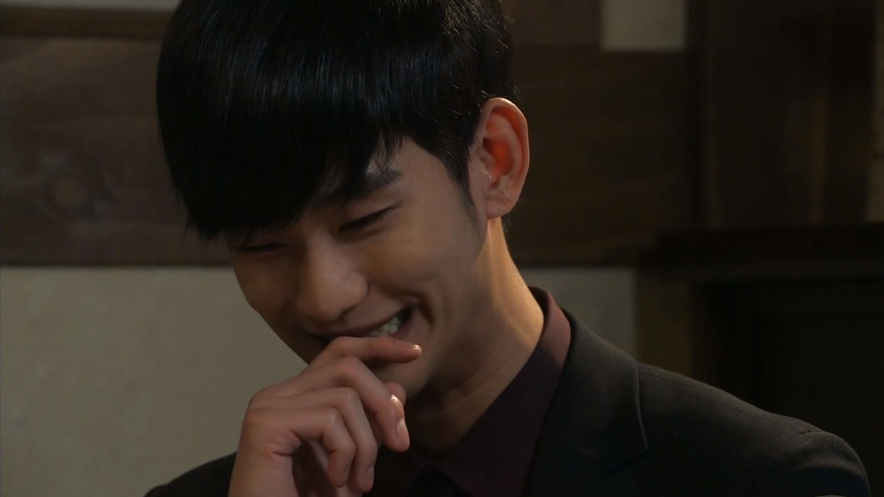 Min Joon Pleased