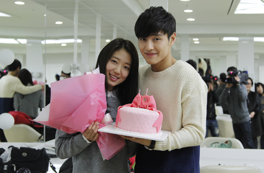 Park Shin Hye Celebrates 10-Year Anniversary on Set of ...