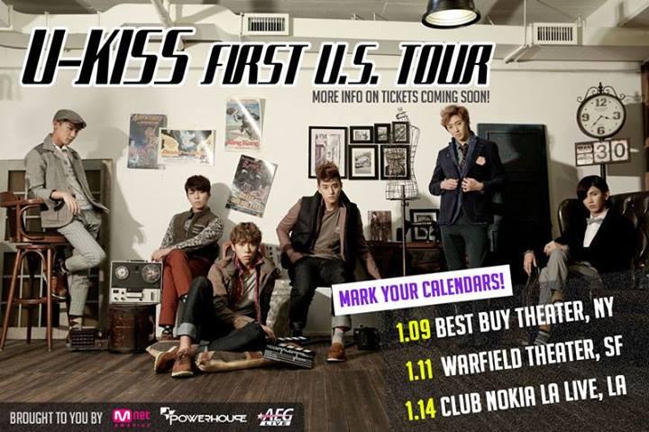 U-KISS U.S. tour