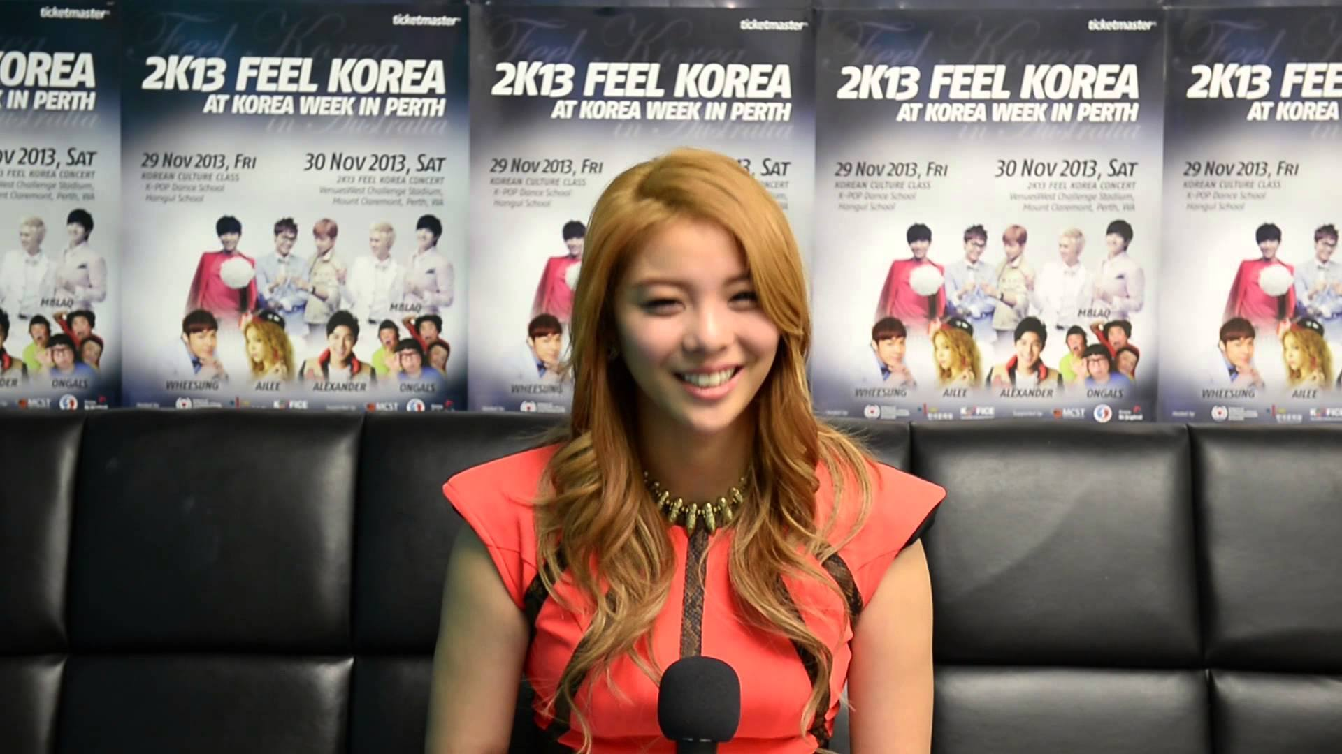 watch ailee s newest english interview from hints at ailee