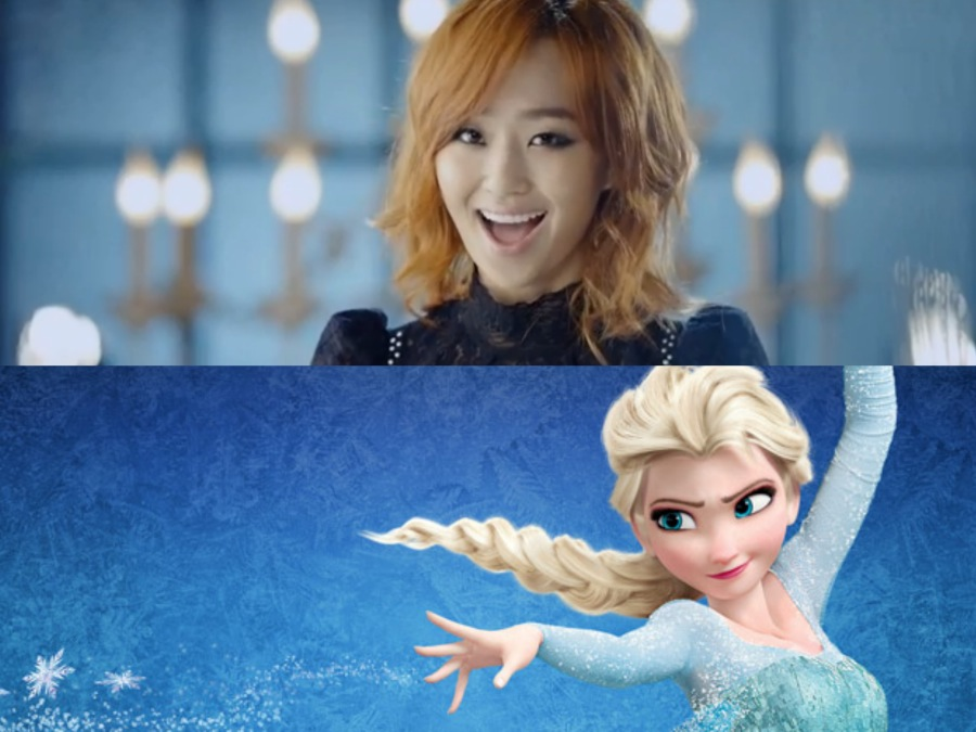 """Hyorin Sings """"Let It Go"""" for the Ending Credits of Disney ...Hyorin 2014"""