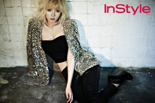 HyunA Is a Perfect Mix of Sexy and Grunge for InStyle ...Hyuna 2013