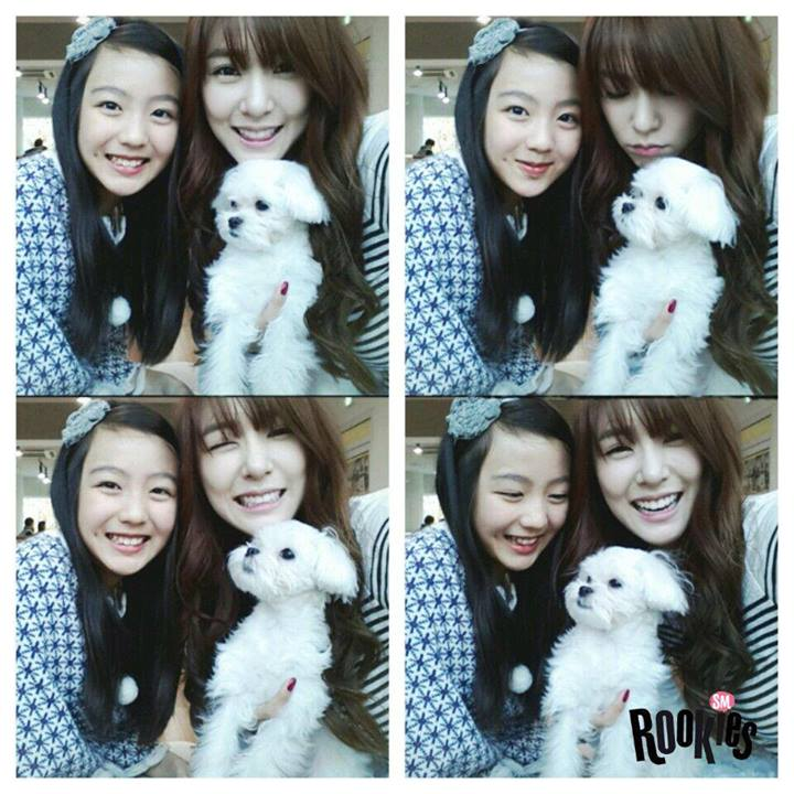 [Updated With Jaehyun's Pic] SMRookies' Irene And Seulgi